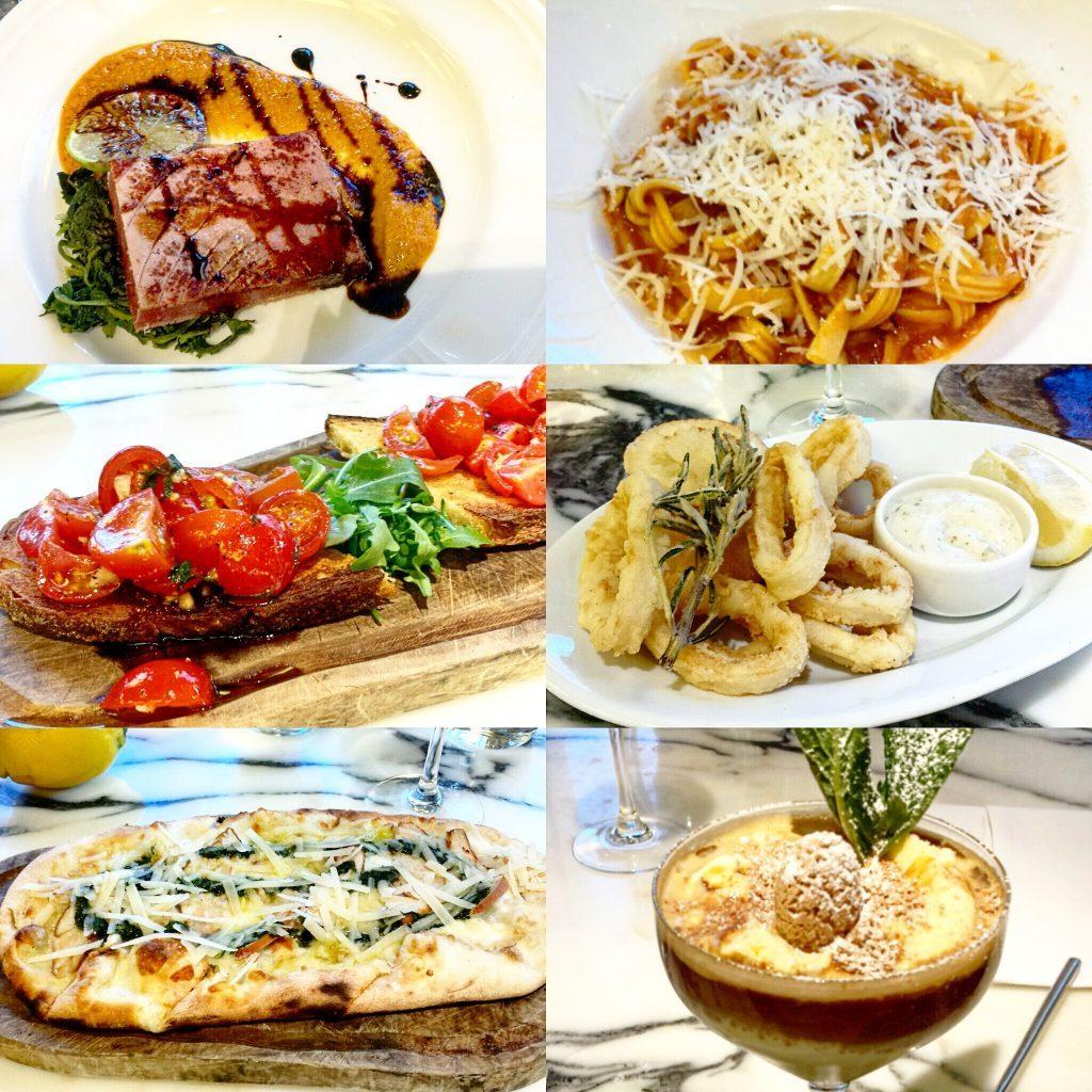 Manchester based fashion and lifestyle blogger. Restaurant review - san carlo fumo. Italian food, pizza, bruschetta, calamari, bolognese, tuna, affogato, tapas. Missguided, ootd, wiwt, fbblogger, bblogger, miss selfridge, new look. Midi skirt, crop top, heels.