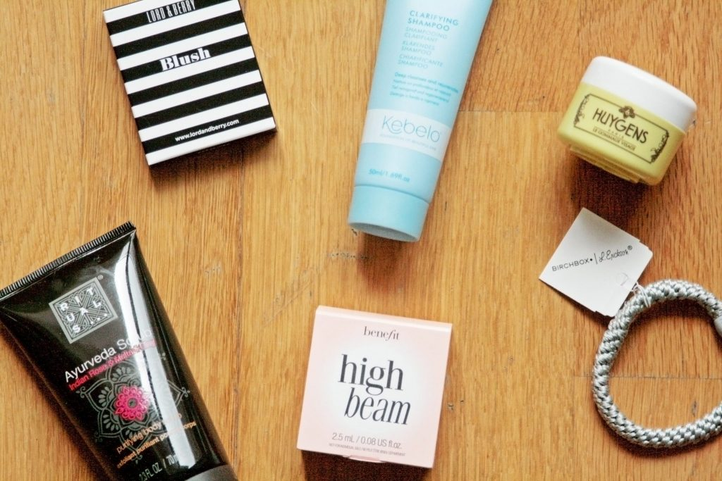 Manchester based fashion and lifestyle blogger. August Birchbox subscription beauty box review.