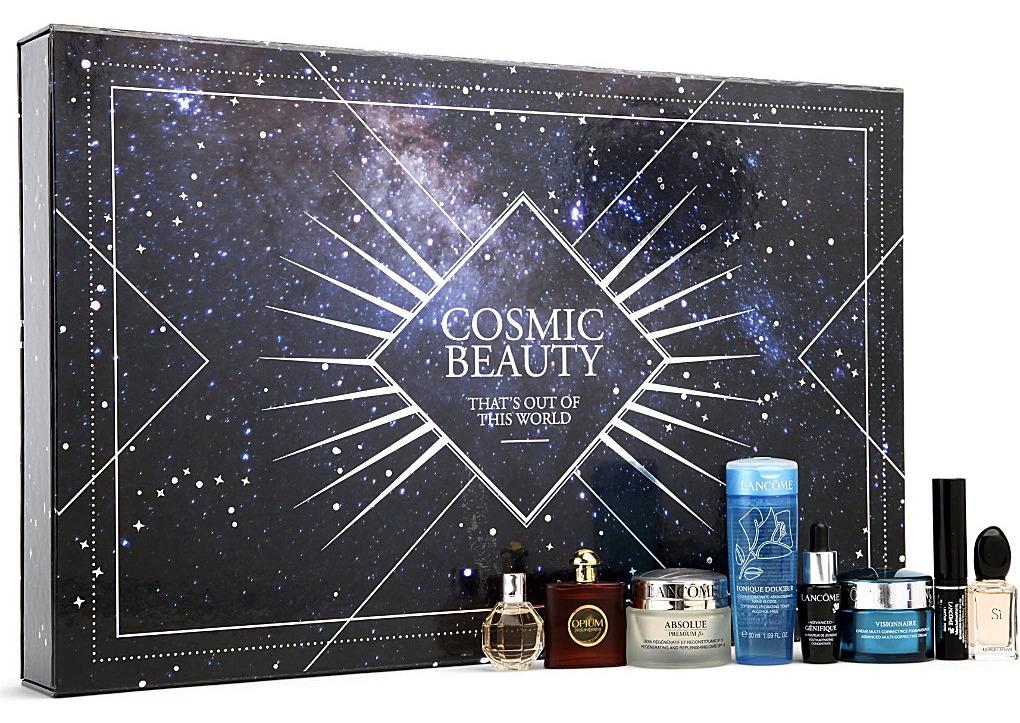 Laura Kate Lucas Blog. Manchester based fashion and lifestyle blogger. Advent calendat wishlist 2014 - selfridges cosmic beauty advent calendar.