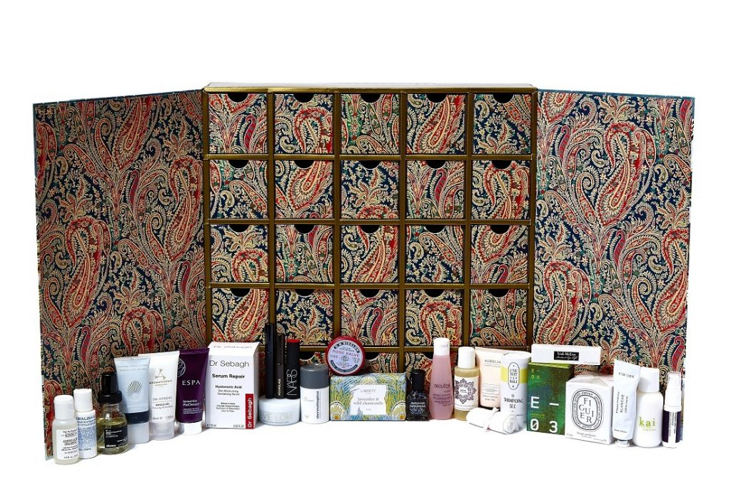liberty london advent calendar 2015 review and contents