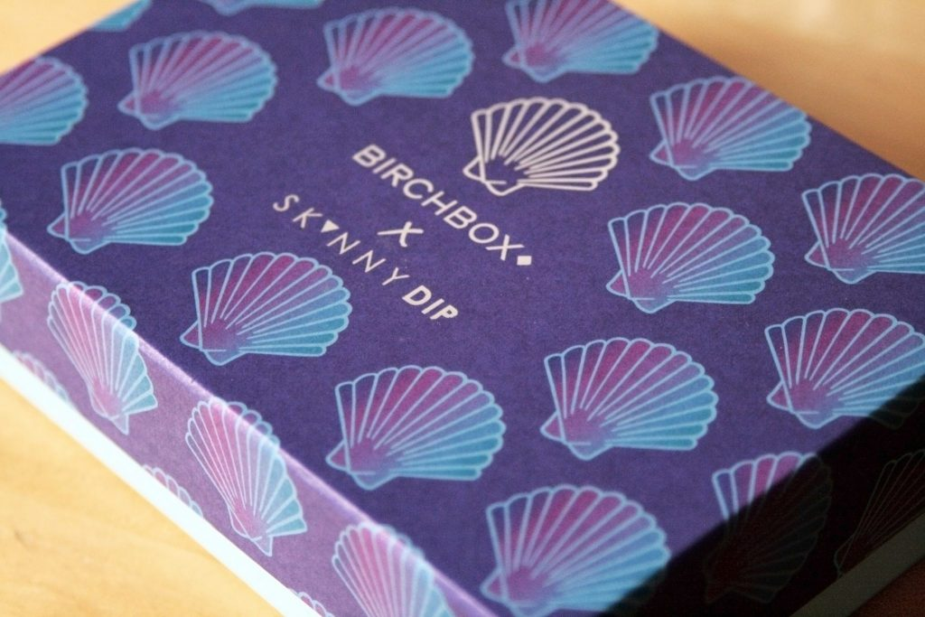 November Birchbox Review - Birchbox X Skinnydip London collab. Subscription box uk review. Shell, Mermaid. Manchester based fashion and lifestyle blog - laura kate lucas.