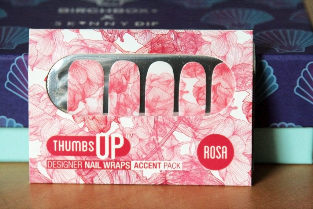 Manchester based fashion and lifestyle blog. November Birchbox - Birchbox X Skinnydip London. Thumbs up Rosa designer nail wraps. Subscription box review