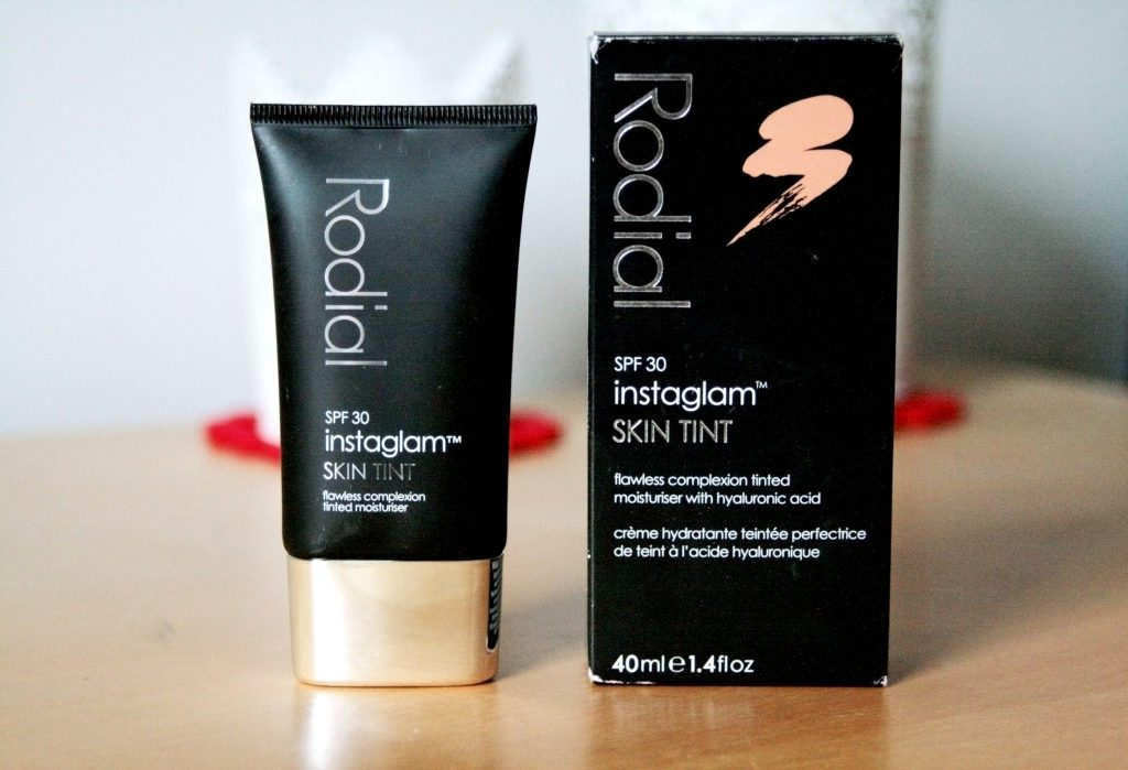 Rodial Instaglam Skin Tint review. laura kate lucas blog. bb cream, cc cream, st barts makeup.
