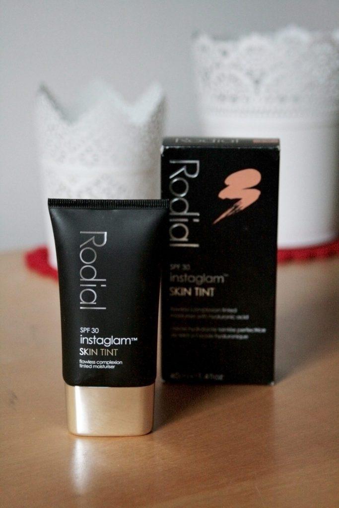 Rodial Instaglam Skin Tint review. laura kate lucas blog. bb cream, cc cream, st barts makeup.