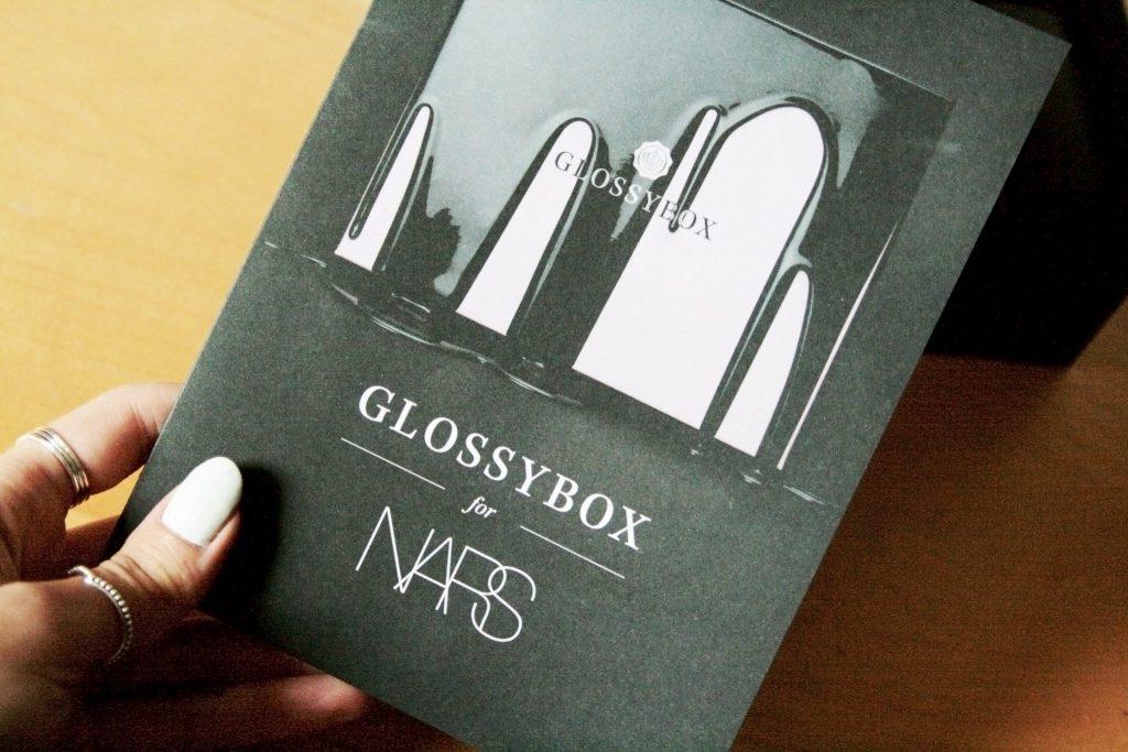 Manchester based fashion and lifestyle blog. Nars x Glossybox review. The Multi stick, Orgasm blush, audacious mascara, black moon eyeliner, Rikugien satin lip pencil.
