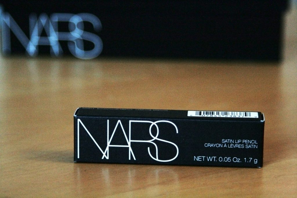 Manchester based fashion and lifestyle blog. Nars x Glossybox review. The Multi stick, Orgasm blush, audacious mascara, black moon eyeliner, Rikugien satin lip pencil.
