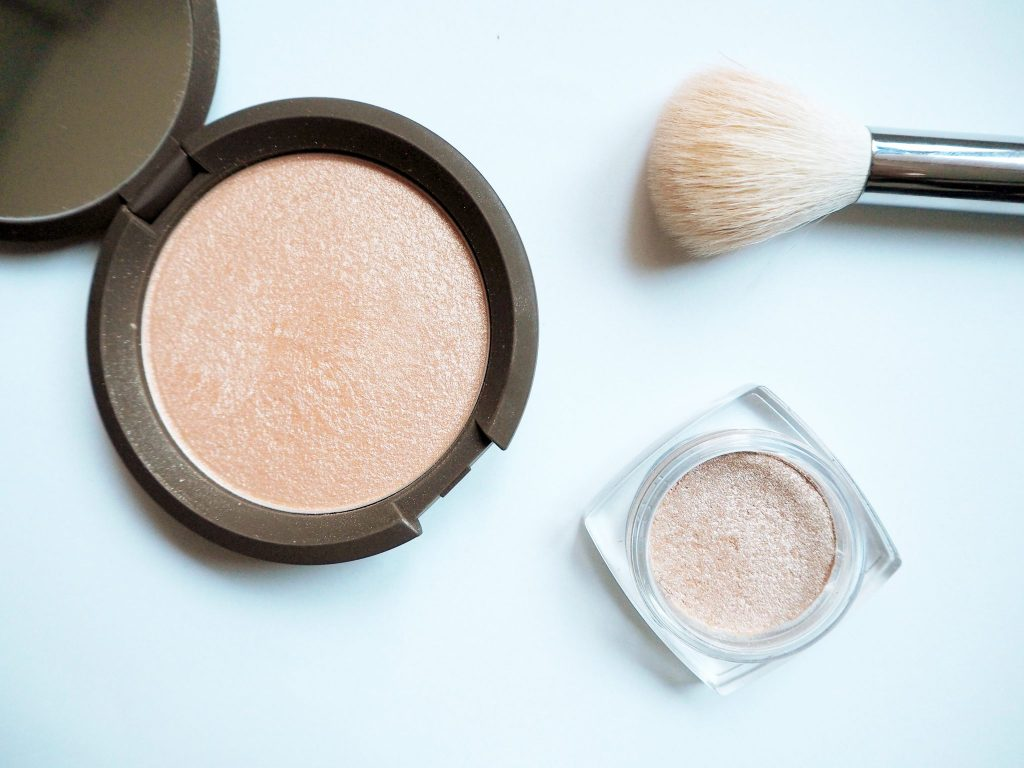 Becca x Jaclyn Hill Champagne Pop Dupe - L'Oreal Infallible eyeshadow in Hourglass Beige