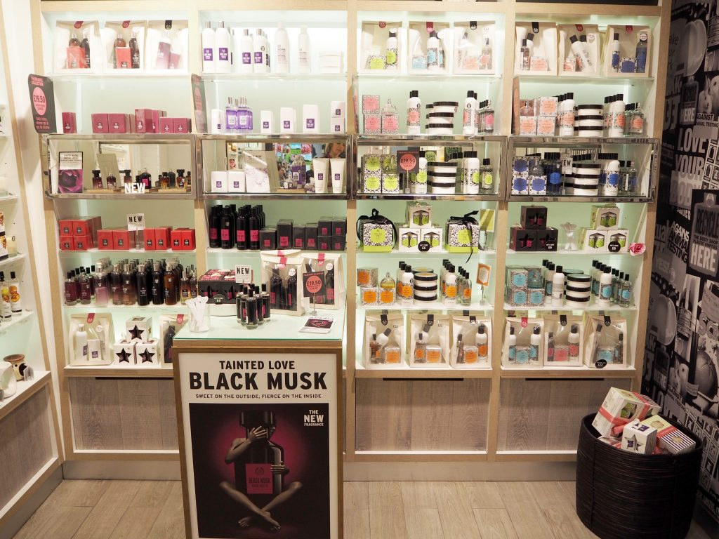 Body Shop British Rose Collection Review