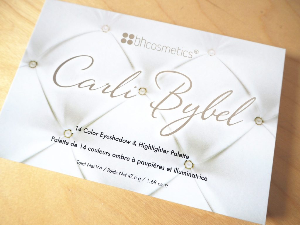 Carli Bybel Hightlight and Eyeshadow Palette