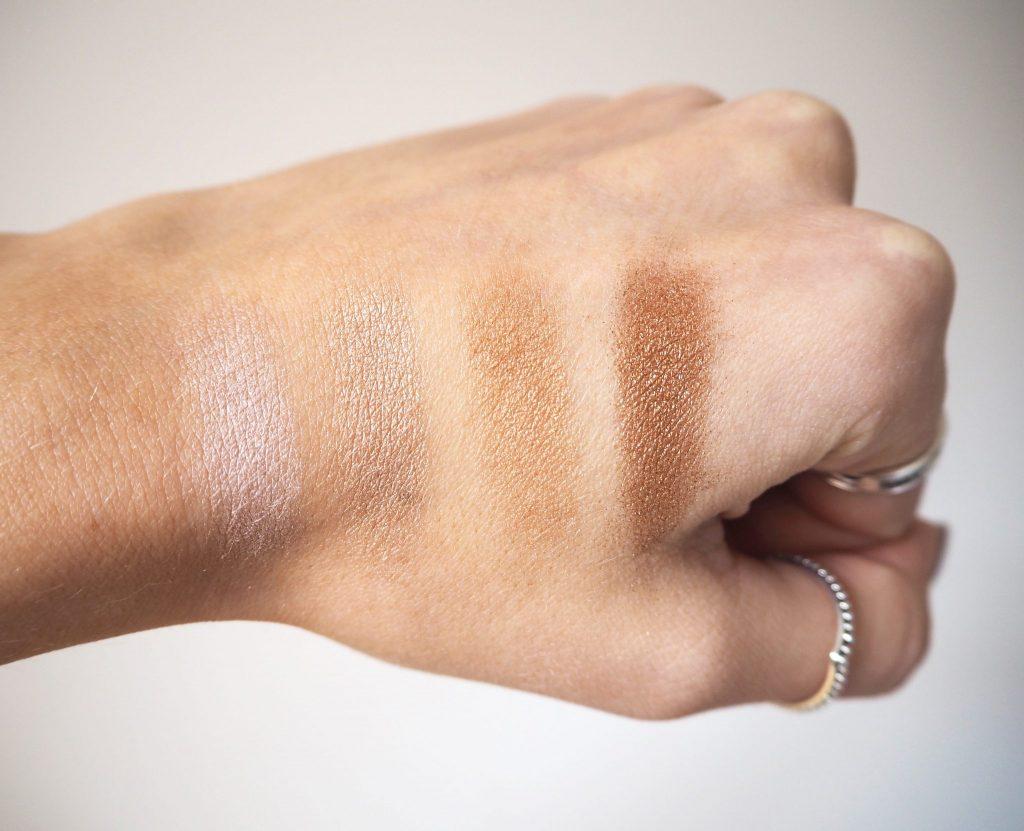Carli Bybel Hightlight and Eyeshadow Palette