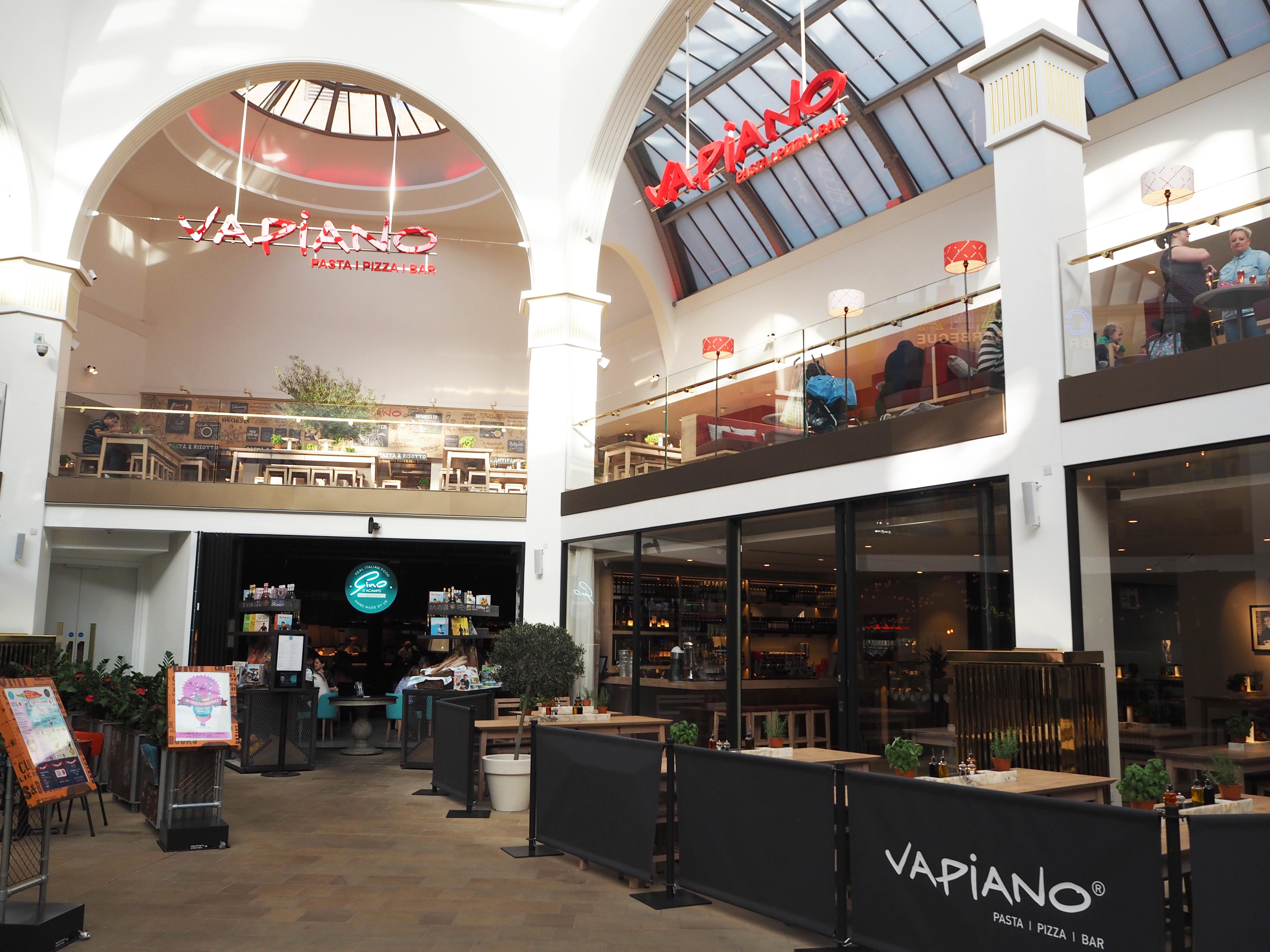 Vapiano UK new cocktail menu launch - Manchester event & review