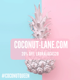 Coconut lane discount badge