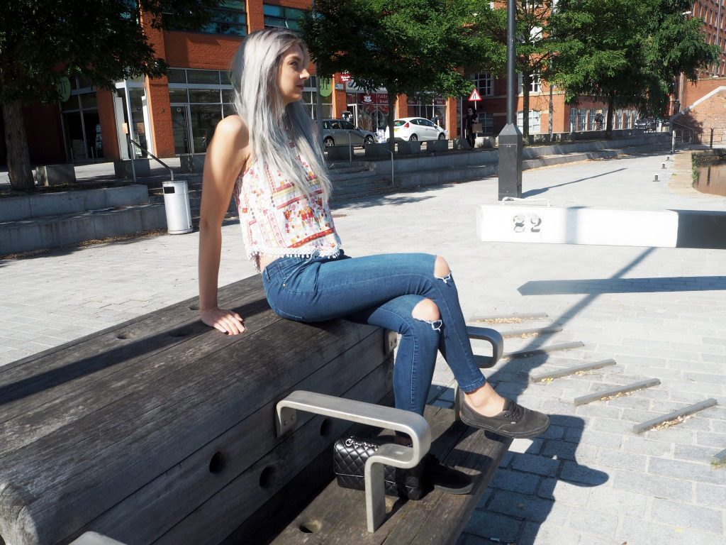 Manchester Fashion and Lifestyle Blogger - Outfit post featuring H&M X Coachella vest