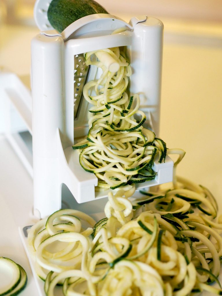 Manchester lifestyle blogger - spiralizer review and recipe