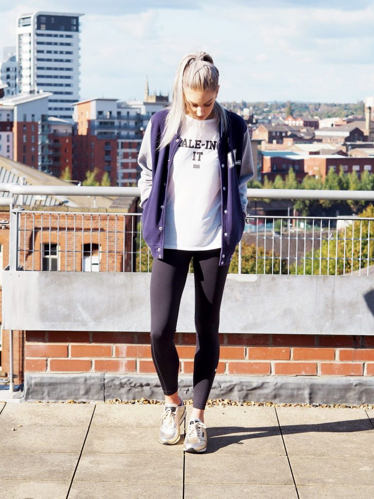 Woden metallic trainers from Tessuti | Manchester based fashion and lifestyle blogger - outfit post