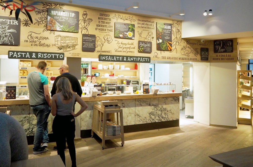 Laura Kate Lucas - Manchester based lifestyle and fashion blogger   Vapiano Vegan Menu Restaurant and Food Review