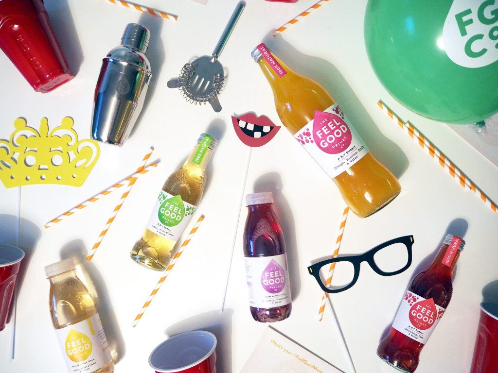 #spreadfeelgoodness Party with The Feel Good Drinks Company | Laura Kate Lucas - Manchester Lifestyle and Fashion Blogger