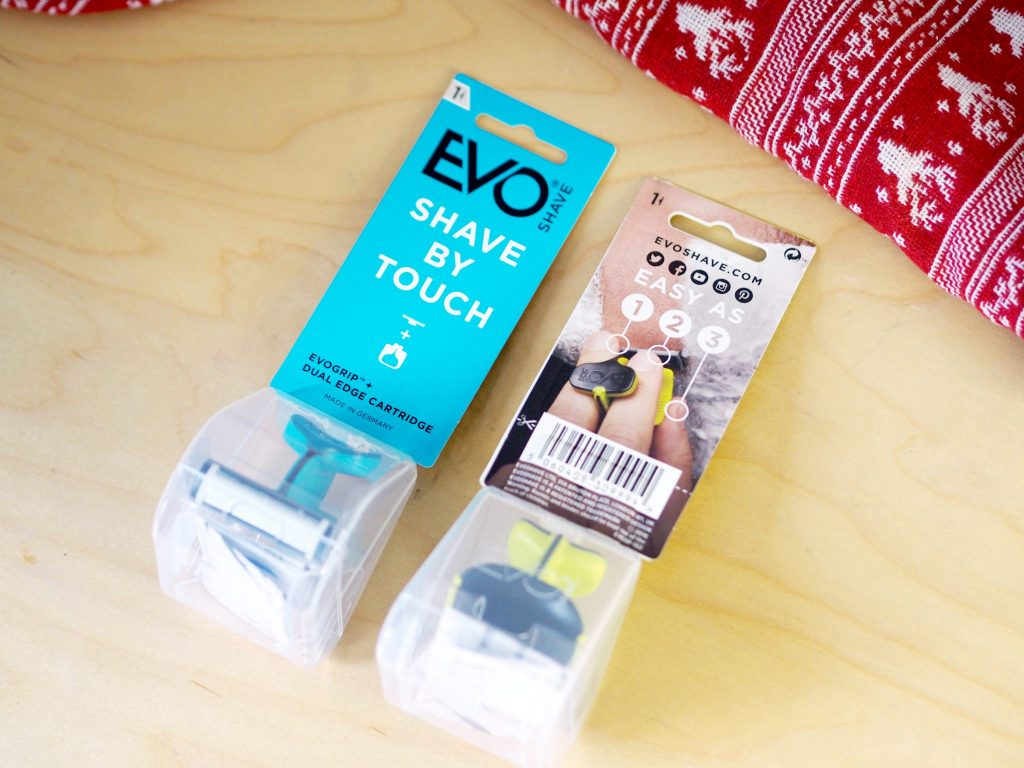 Laura Kate Lucas - Manchester Fashion and Lifestyle Blogger | Stocking Gift for Him - Evo Shave Razor
