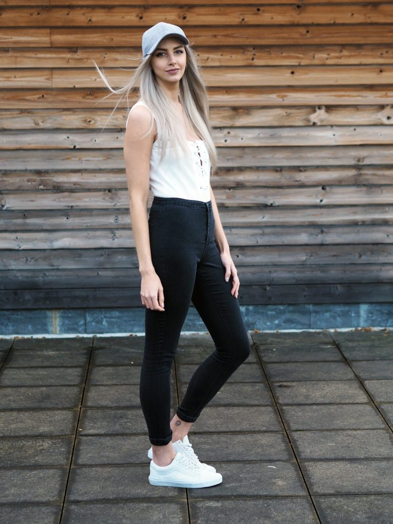 Laura Kate Lucas - Manchester Fashion and Lifestyle Blogger | Casual Outfit Post Featuring Zaful Sweater, Cap and Bodysuit