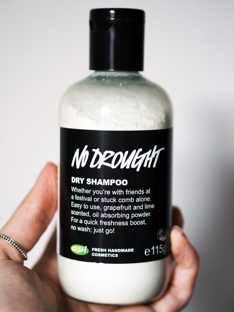 Laura Kate Lucas - Manchester based Fashion and Lifestyle Blogger - Lush No Drought Dry Shampoo Product Review