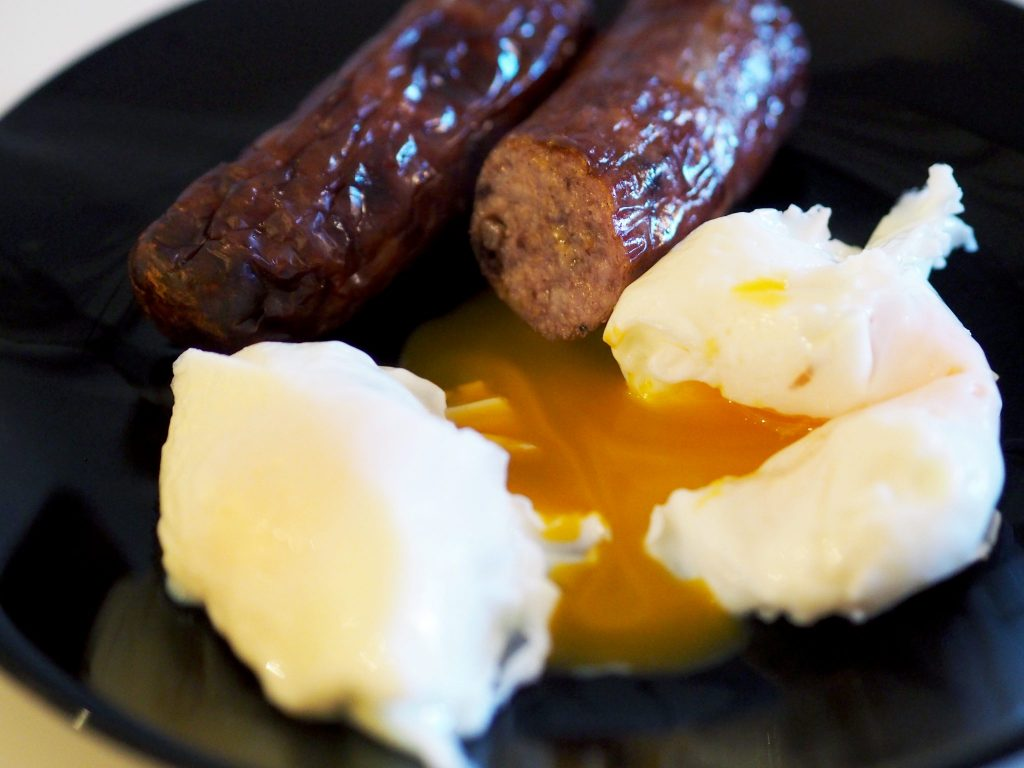 Laura Kate Lucas - Manchester Lifestyle and Fashion Blogger | Breakfast Recipes with Grandads Sausages - Crustless Quiche and Poached Eggs