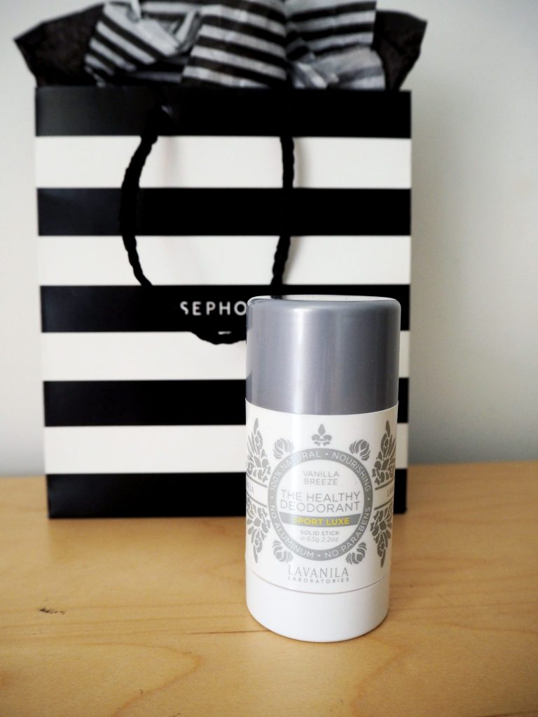 Laura Kate Lucas - Manchester Fashion and Lifestyle Blogger | La Vanila Natural Deodorant Sephora Haul