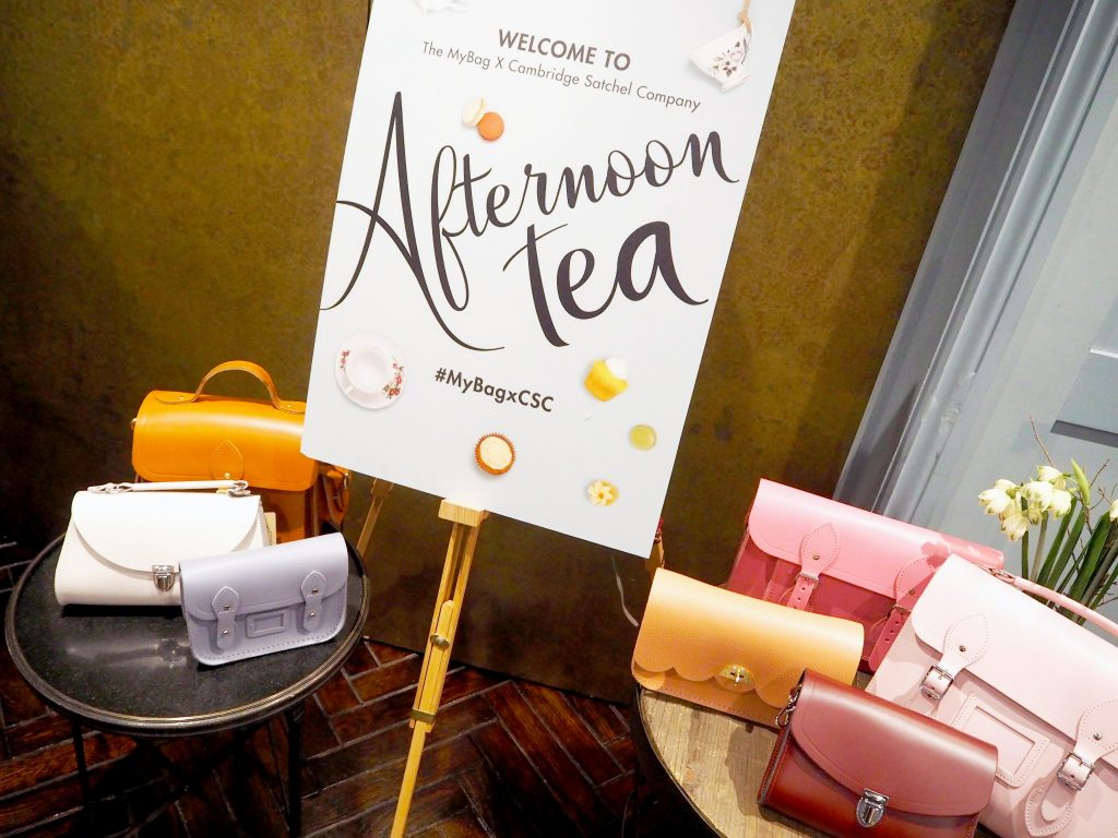 Laura Kate Lucas - Manchester Fashion and Lifestyle Blogger | My Bag x Cambridge Satchel Company Launch - Personalised Handbags and Afternoon Tea