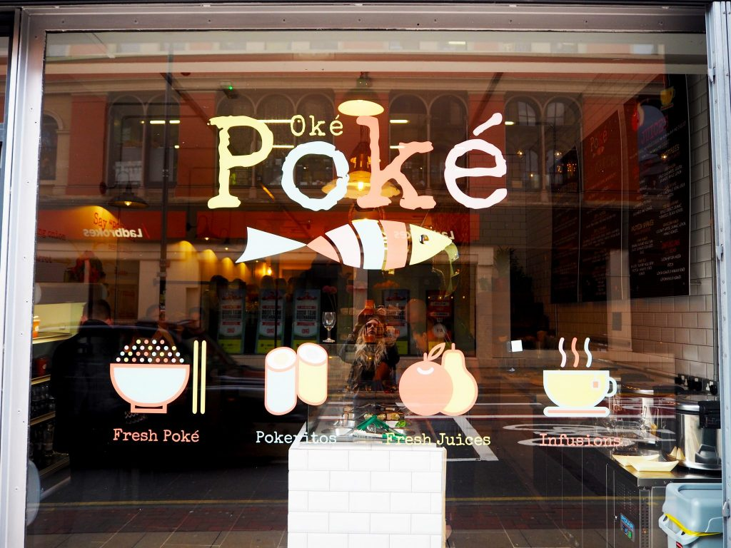 Laura Kate Lucas - Manchester Fashion and Lifestyle Blogger | Oke Poké Restaurant Launch Northern Quarter - Hawaiian Deconstructed Sushi
