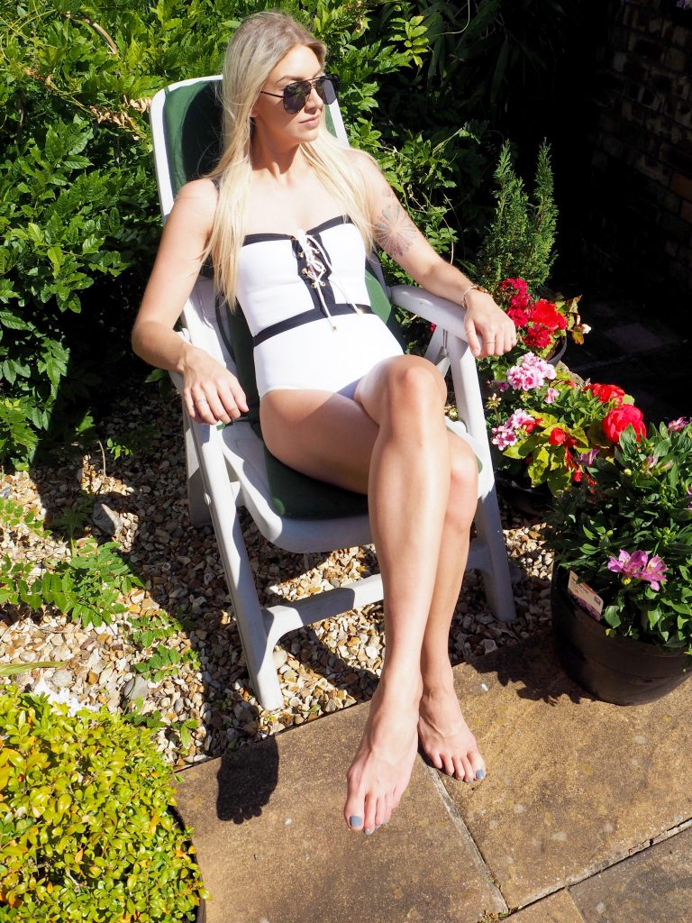Laura Kate Lucas | Manchester Fashion and Lifestyle Blogger - UK Swimwear Vacanze Italiane Bandeau Swimsuit Outfit Post