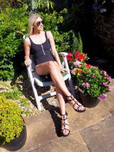 Laura Kate Lucas - Manchester Fashion, Lifestyle and Fitness Blogger | UK Swimwear Anita Rosa Faia Black Zip Swimsuit