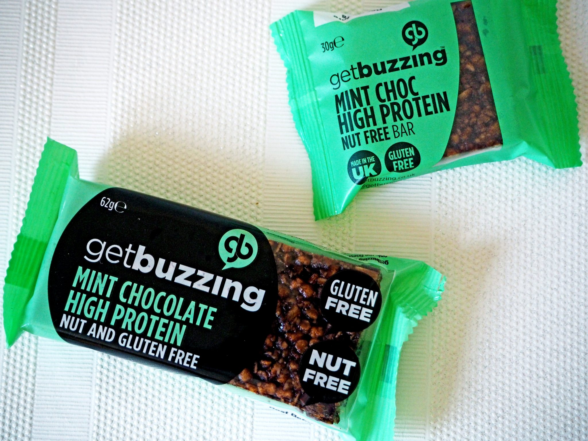 Laura Kate Lucas - Manchester Food, Fitness and Fashion Blog   Get Buzzing High Protein Flapjack Product Review