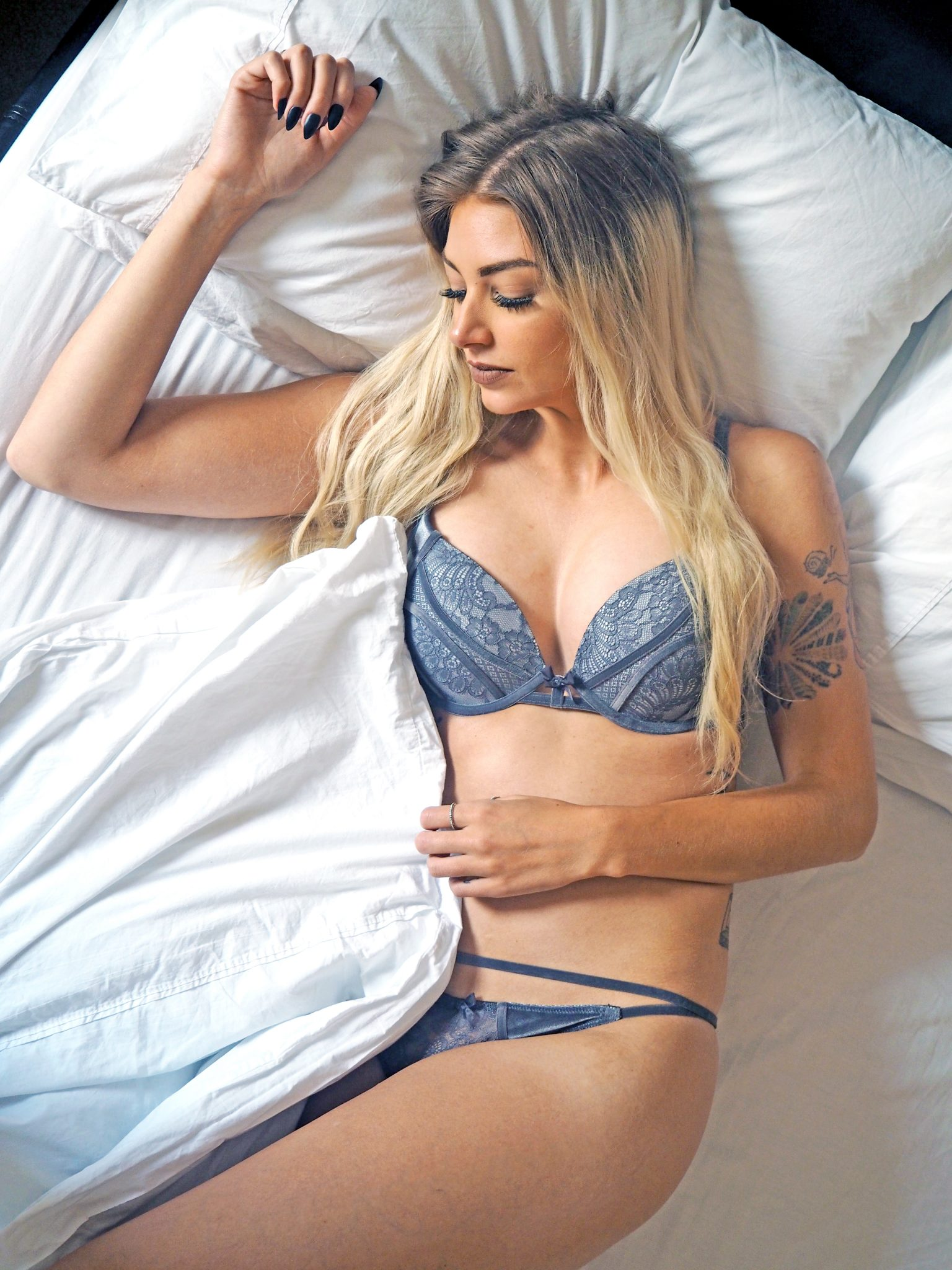 Laura Kate Lucas - Manchester Fashion, Fitness and Food Blogger | HUNKEMÖLLER X PAMELA REIF Underwear Collection Outfit