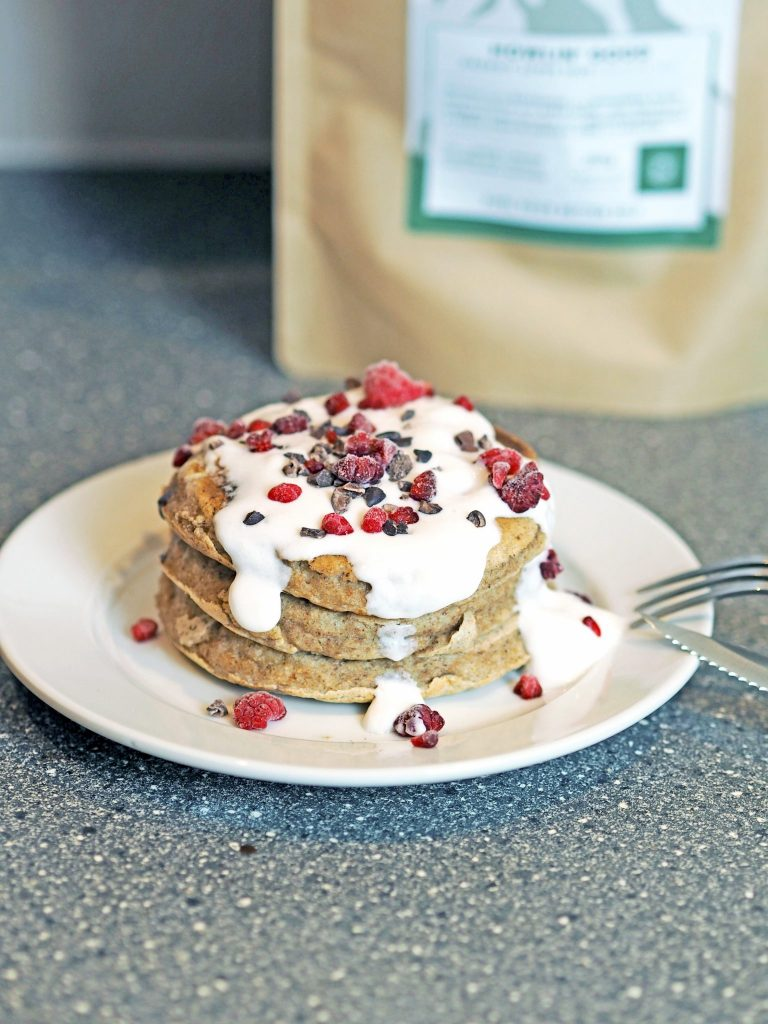 Laura Kate Lucas - Manchester Food, Fashion and Travel Blogger | Wolf + Scott Organic Vegan Pancake Mix - Recipe and Review