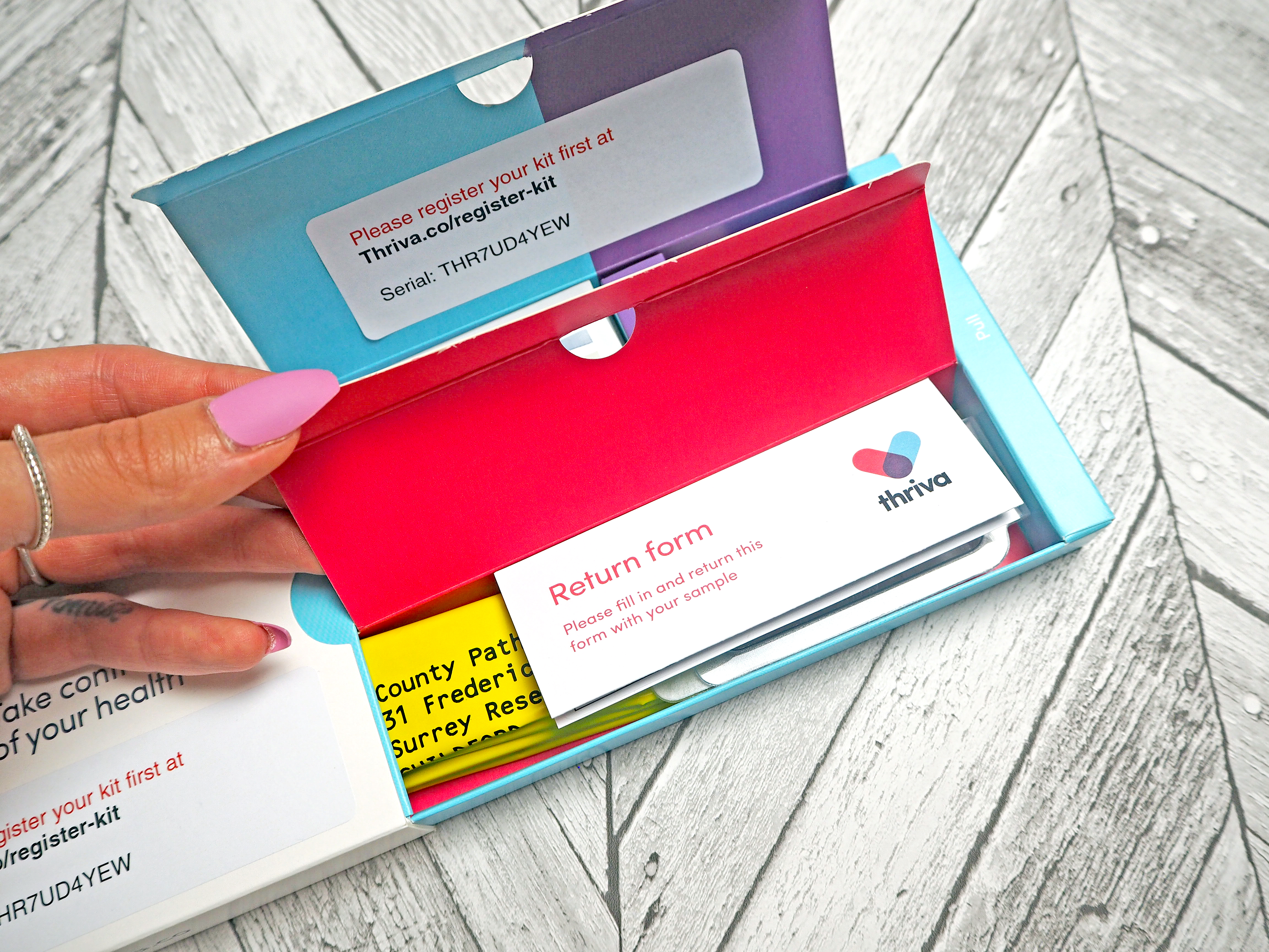 Laura Kate Lucas - Manchester Fashion, Travel and Lifestyle Blogger |  Thriva Home Health Test Kit Review
