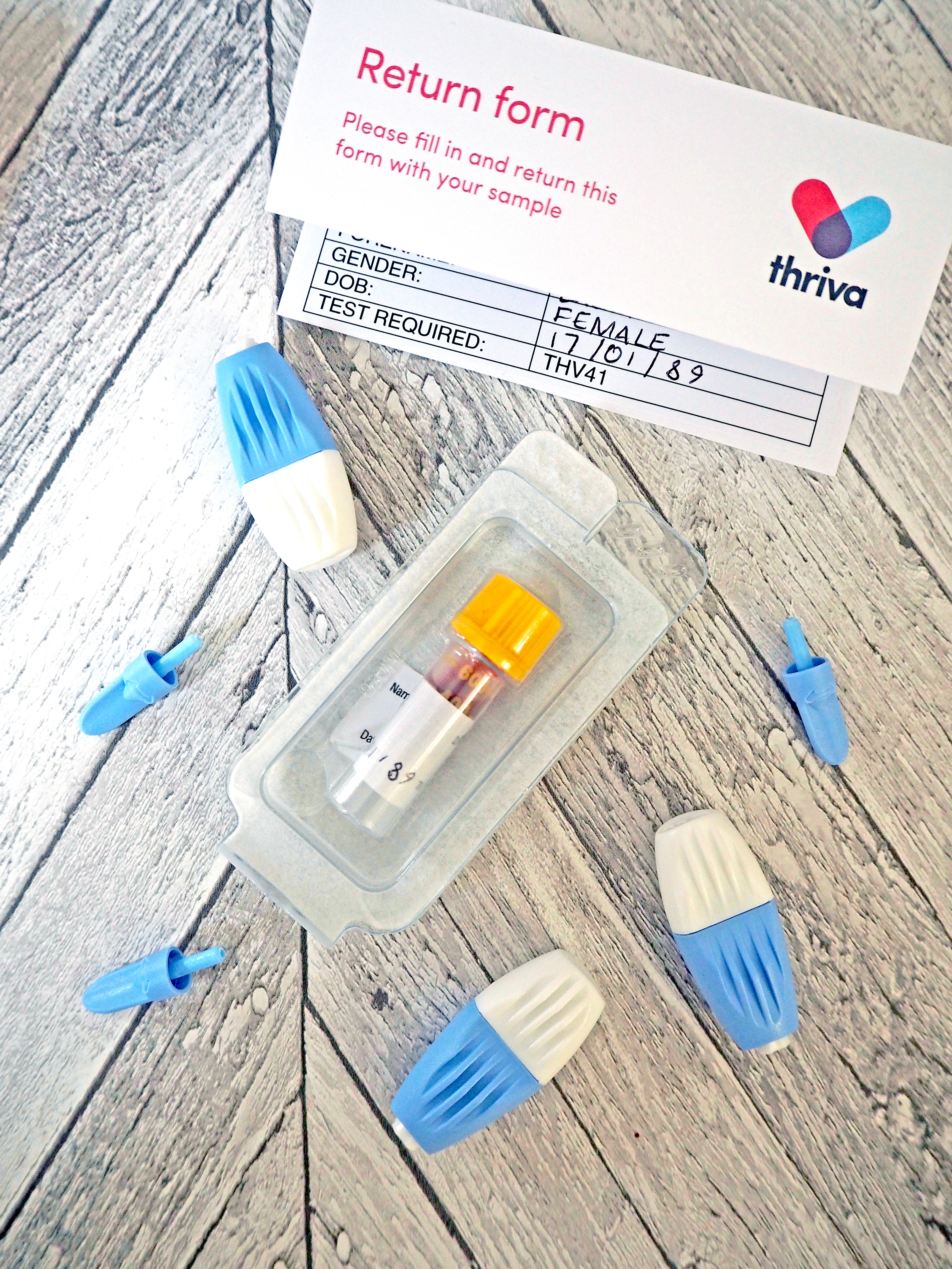 Laura Kate Lucas - Manchester Fashion, Travel and Lifestyle Blogger    Thriva Home Health Test Kit Review