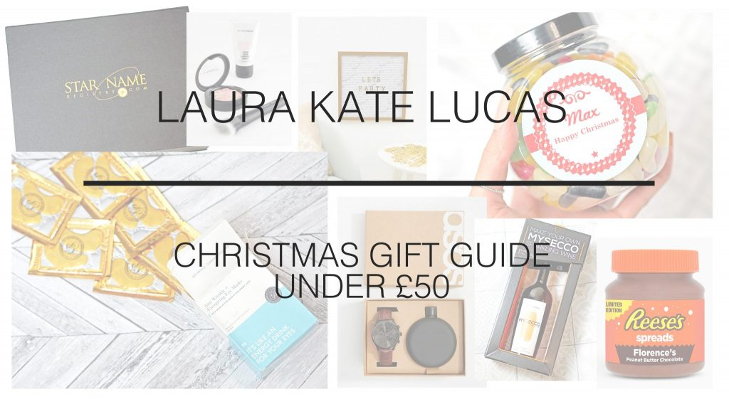 Laura Kate Lucas - Manchester Fashion, Lifestyle and Travel Blogger | Last Minute Christmas Gift Guide Ideas and Inspo