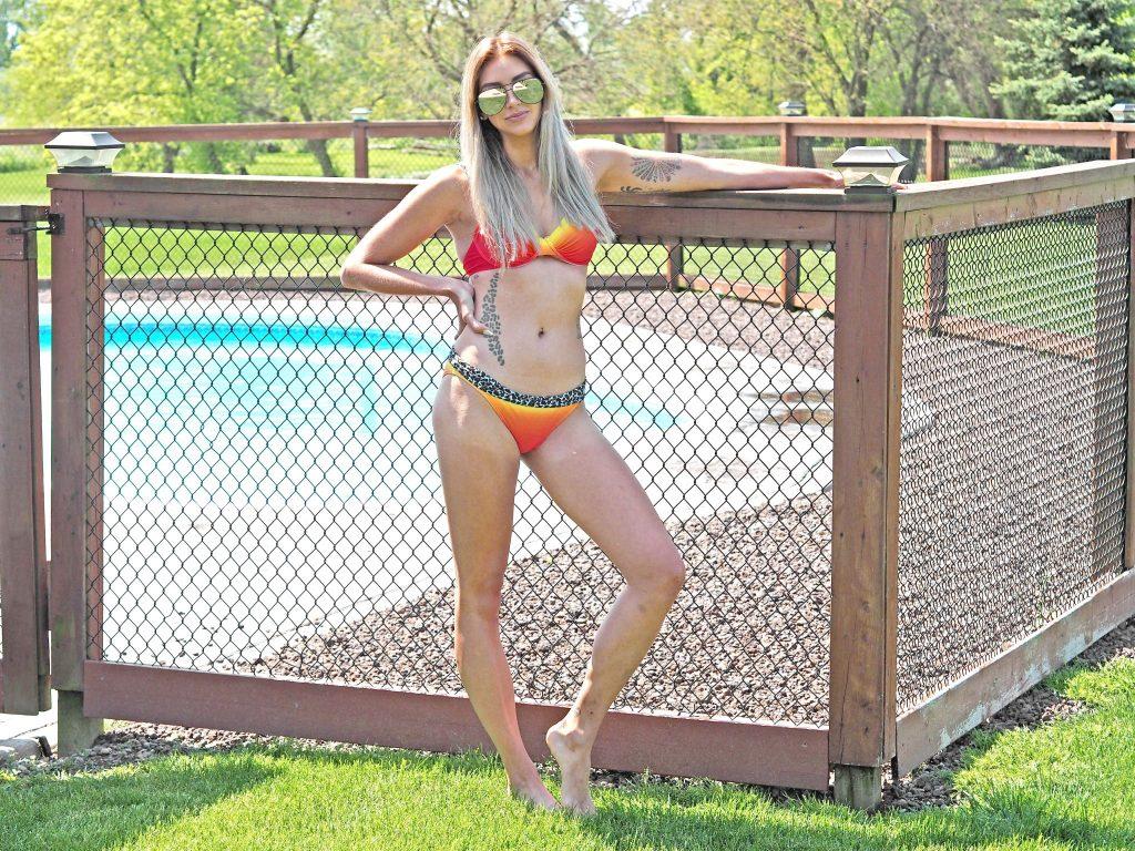 Laura Kate Lucas - Neon Bikini Swimwear365