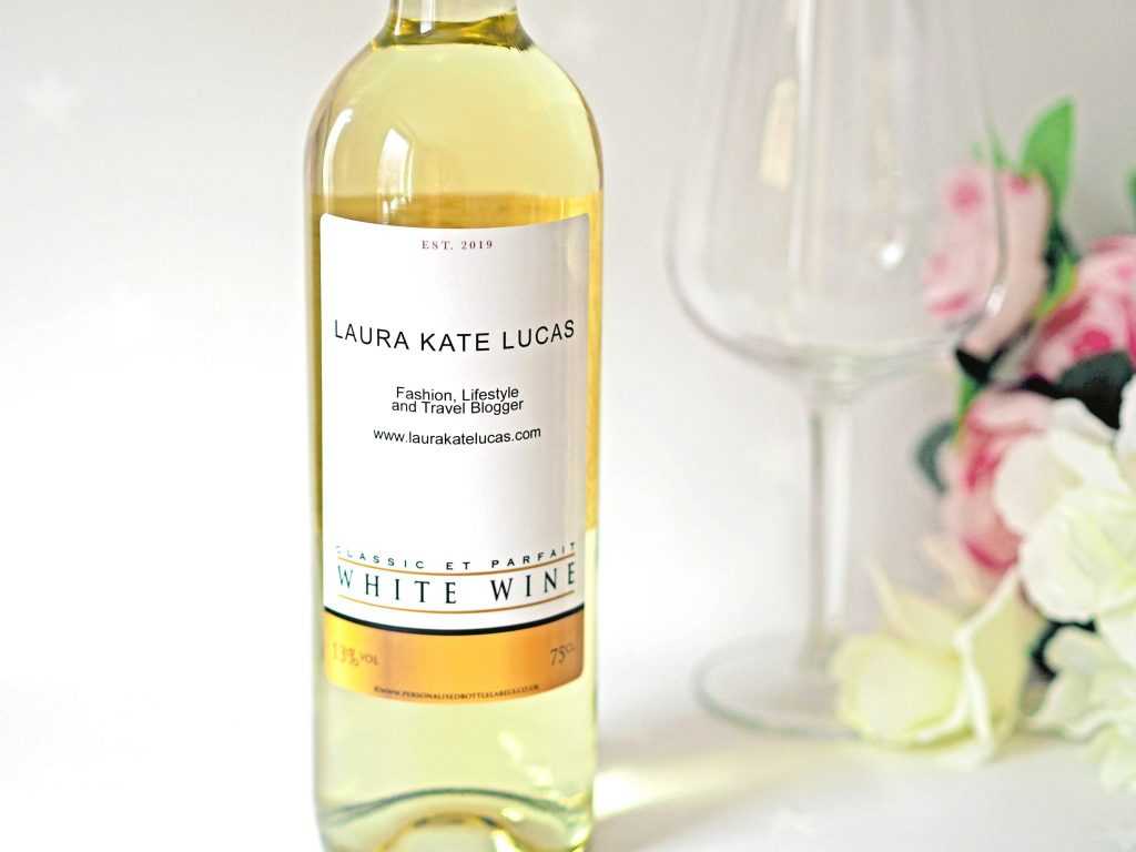 Laura Kate Lucas - Manchester Fashion, Lifestyle and Wedding Blogger | Personalised Wine - Personalised Bottle Labels