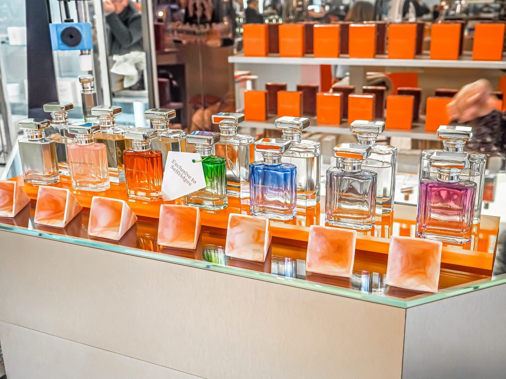 Laura Kate Lucas - Manchester Fashion, Beauty and Lifestyle Blogger   Ormonde Jayne at Selfridges - Personalised Perfume