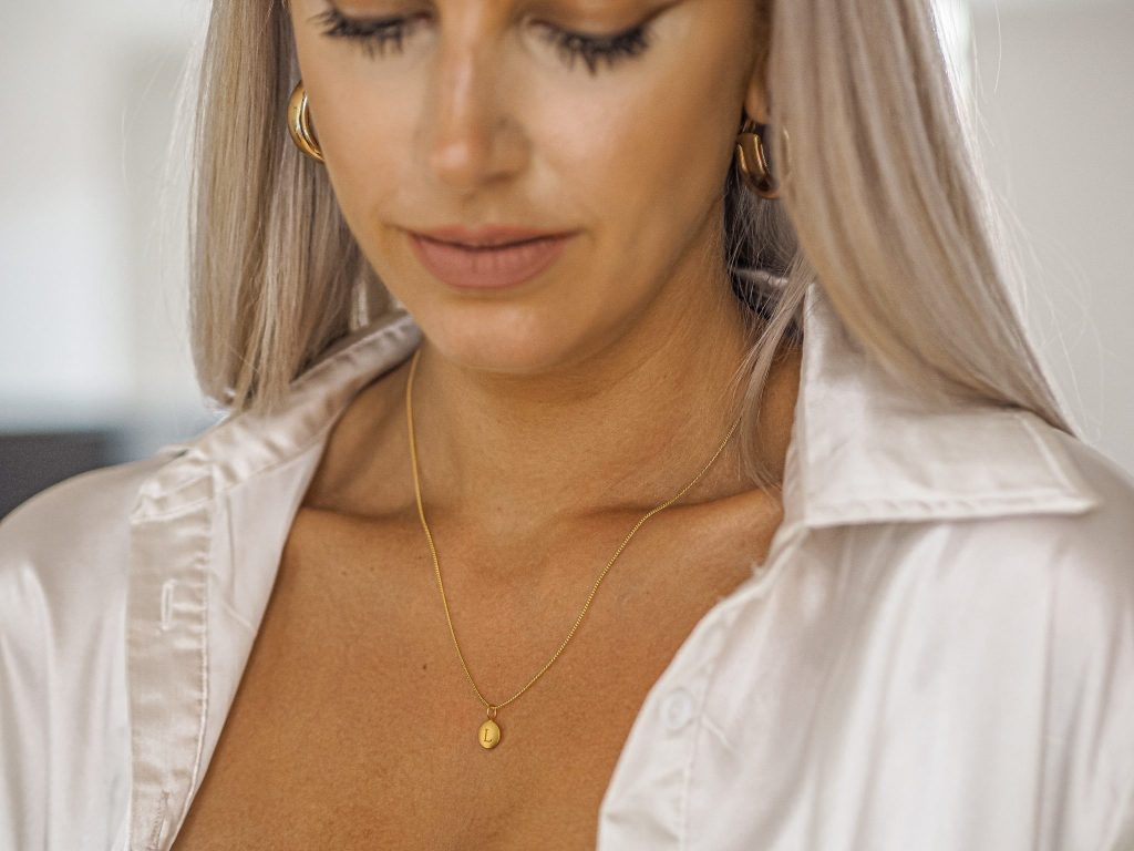 Laura Kate Lucas - Manchester Fashion, Food and Lifestyle Blogger | Jewel Editions Initial Necklace Jewellery