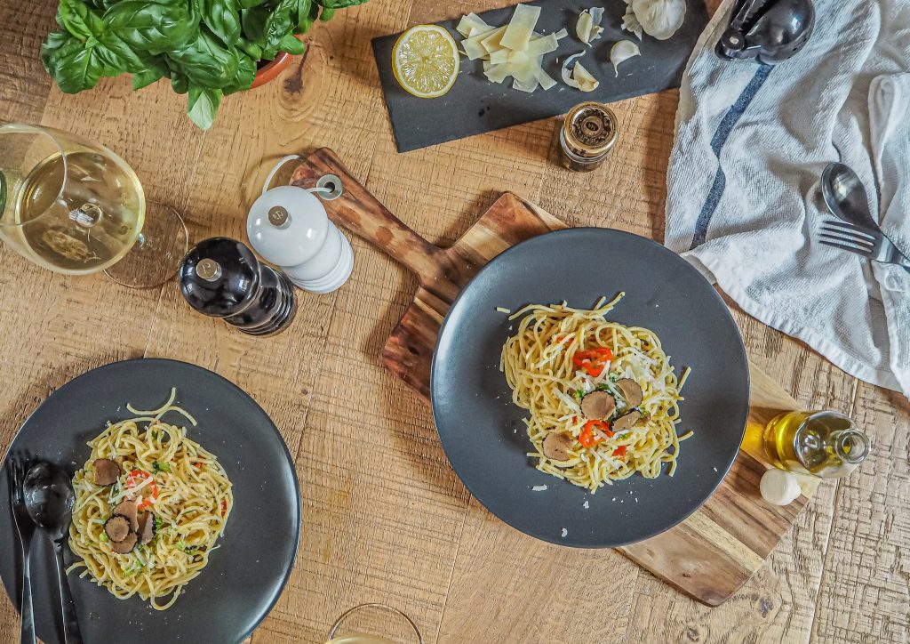 Laura Kate Lucas - Manchester Fashion, Food and Lifestyle Blogger | Sous Chef Truffle Crisps and Truffle Pasta Recipe