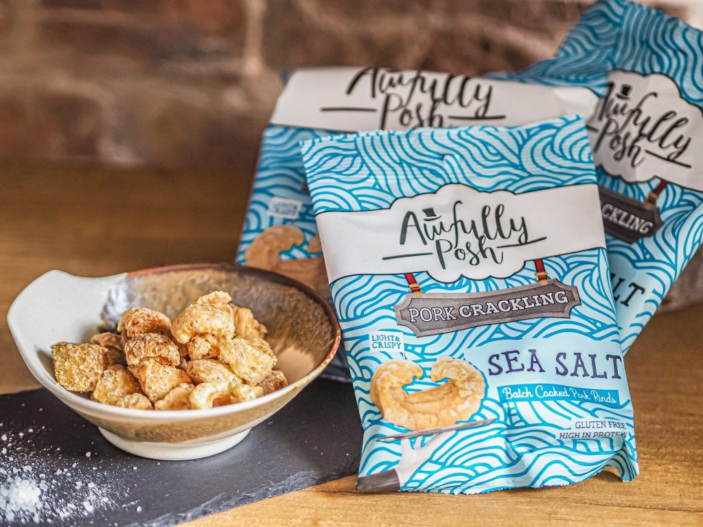 Laura Kate Lucas - Manchester Fashion, Food and Lifestyle Blogger   Awfully Posh Pork Scratchings Review