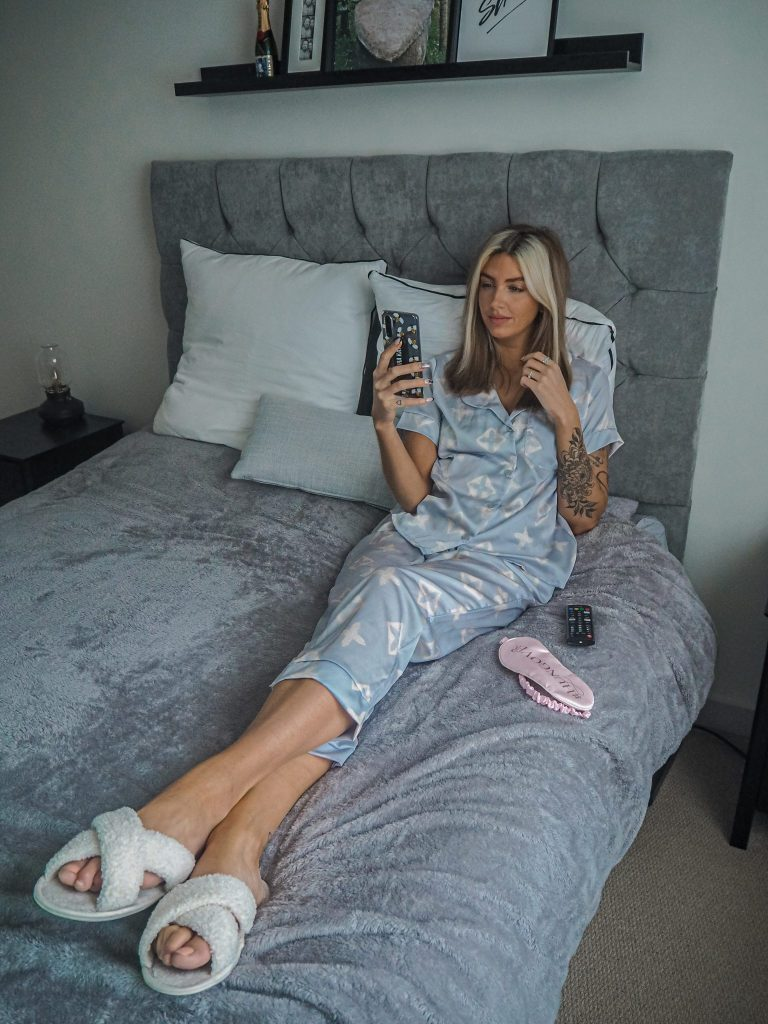 Laura Kate Lucas - Manchester Fashion, Beauty and Lifestyle Blogger | Katch Me Monogram Pyjama Set