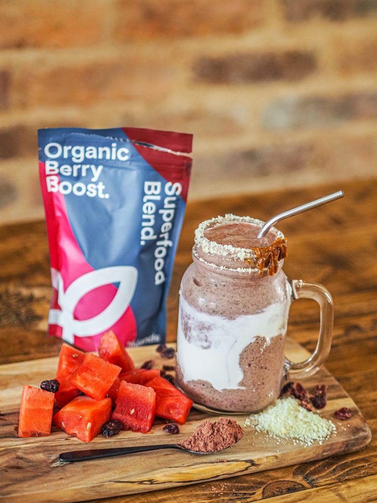 Laura Kate Lucas - Manchester Fashion, Food and Lifestyle Blogger | Healthxcel Superfood Blend Organic Berry Boost Recipe