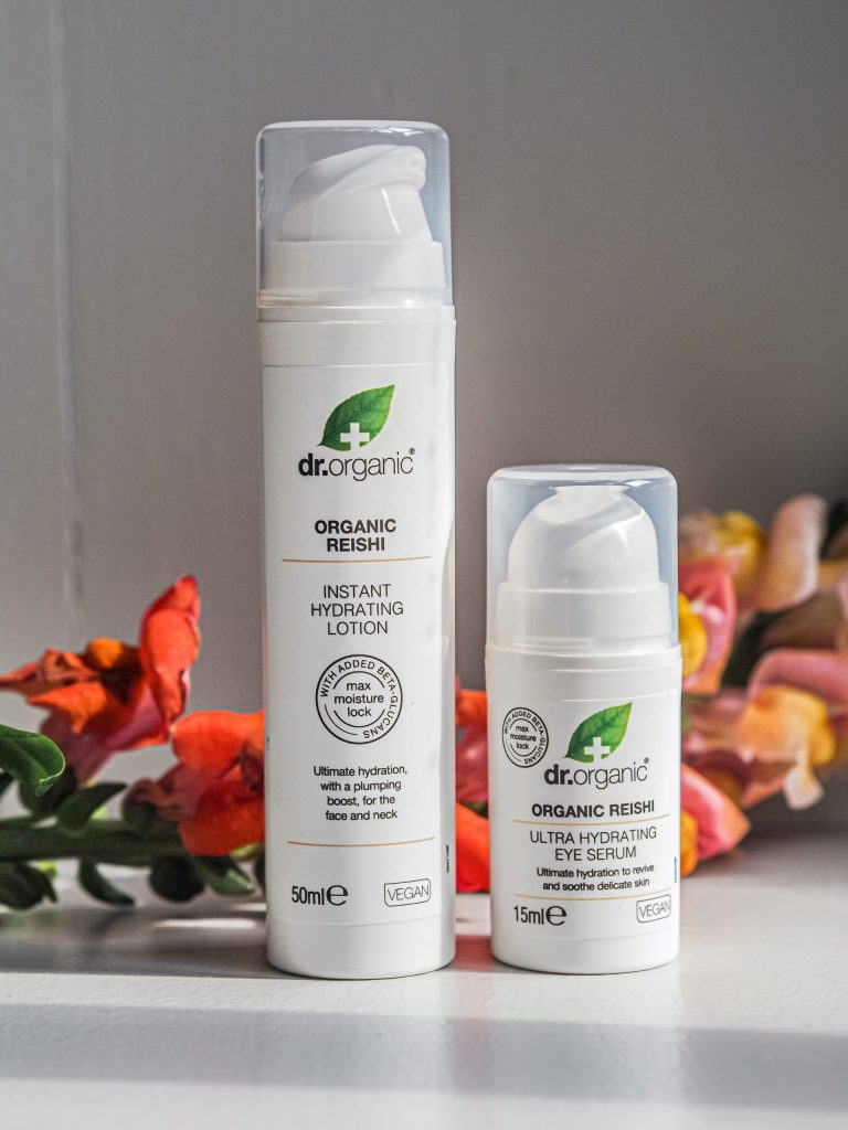 Laura Kate Lucas - Manchester Fashion, Beauty and Lifestyle Blogger | Dr. Organic Reishi Lotion and Serum